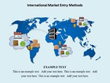 International Market Entry Methods Templates For Powerpoint