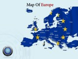 Map Of Europe Templates For Powerpoint