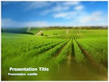 Agriculture Fields Templates For Powerpoint