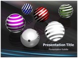 3D Spheres Powerpoint Template