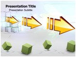 Linear Arrows Powerpoint Template
