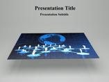 3D puzzle piece Powerpoint Template
