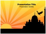 Sun light Powerpoint Template