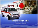 Ambulances Templates For Powerpoint