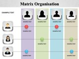Matrix Organisation Powerpoint Template