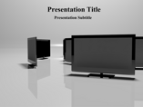 Display Screen Powerpoint Template