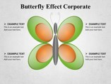 Butterfly Effect Corporate Powerpoint Template
