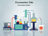 Science Laboratory Powerpoint Template