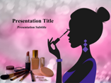 Makeup Tips Powerpoint Template