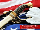 American Soldier Templates For Powerpoint