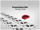 Red Car Templates For Powerpoint