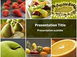 Nutrition Facts Template Templates For Powerpoint