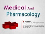 Medical and Pharmacology Diagrams Powerpoint Template