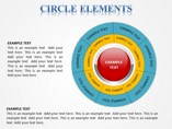 Circle Elements Powerpoint Template