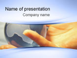 World In Hands Design - Powerpoint Template