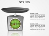 Scales Powerpoint Template