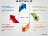 Pinwheel Style Process Shapes Powerpoint Template