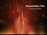 Fire Animated Powerpoint Template