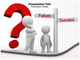 Failure and Success Powerpoint Template