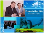 Office life Powerpoint Template