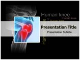 Human Knee Templates For Powerpoint