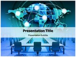 Worldwide Report Templates For Powerpoint