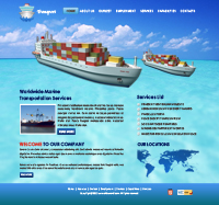Water Transport Powerpoint Template