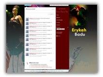 Erykah Badu Twitter Template Powerpoint Template