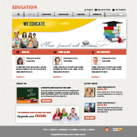 Education web templates