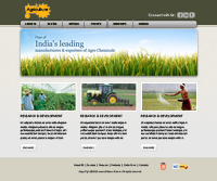 Agriculture Web Templates Powerpoint Template