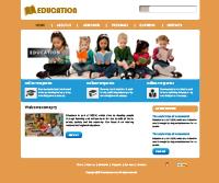 Educational Web Template