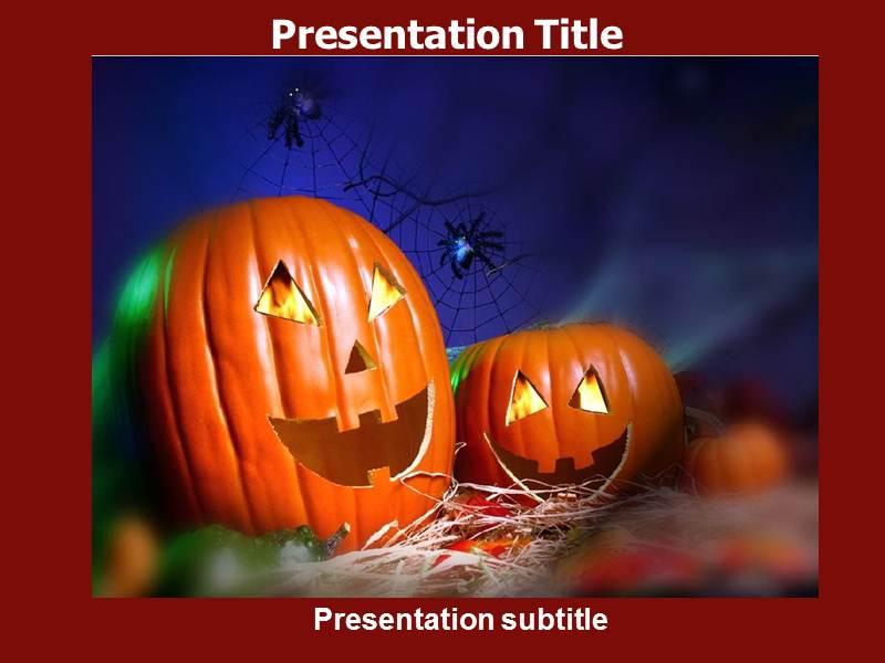 Halloween - Powerpoint Templates