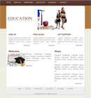Education Website Template Powerpoint Template