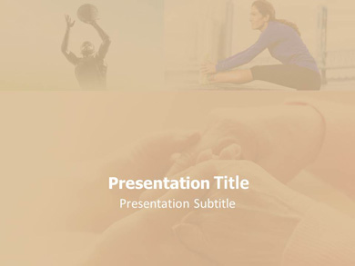 Arthritis Exercise Powerpoint Template