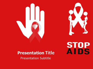 Aids Protection Powerpoint Template