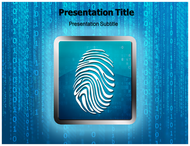 Encryption Security Powerpoint Template