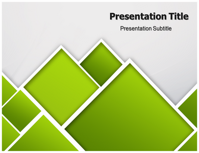 Abstract Green Concept Powerpoint Template