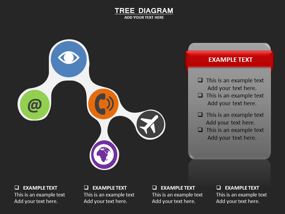 Tree chart Powerpoint Template