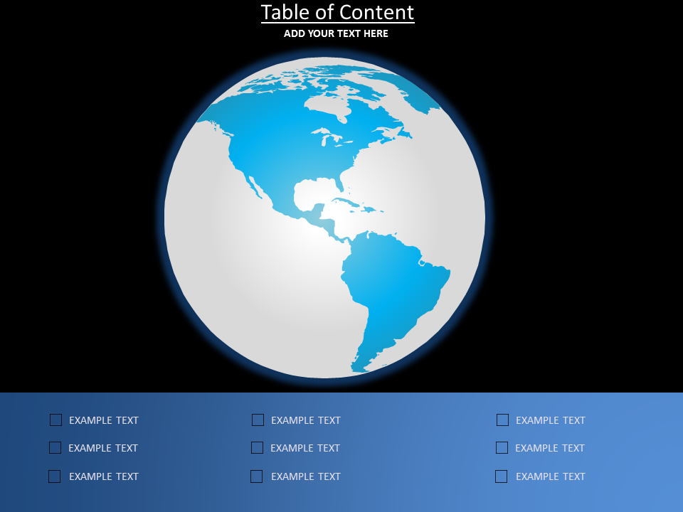 Table of Content Powerpoint Template