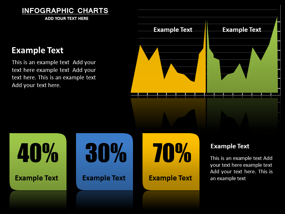 Infographic Charts Powerpoint Template