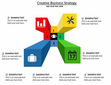Creative Business Strategy Powerpoint Template