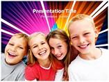 Children Photos Templates For Powerpoint