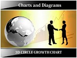 Circle Growth Chart - Powerpoint Templates